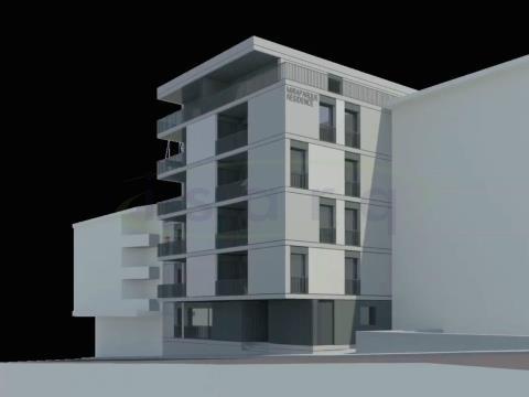 Apartamento T1, com excelente varanda no Centro da Maia e próximo do Metro