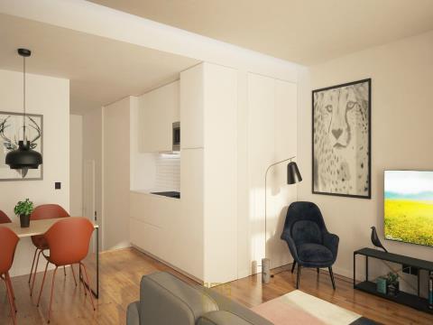 Apartamento T0 Baixa