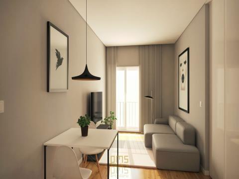 Apartamento T0+1 Baixa