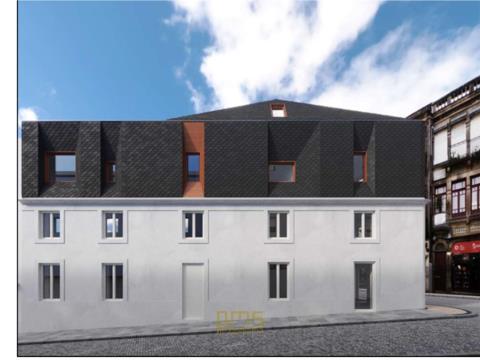 Apartamento T1+1 Duplex em Cedofeita, Porto