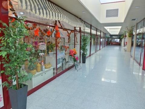 Trespasse de Floricultura a trabalhar em pleno no Centro Comercial de São Marcos