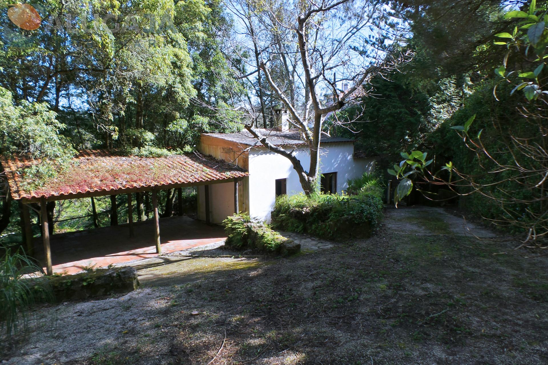 Bauernhof im Naturpark von Sintra, bestehend aus 2 Häusern und 2.400m² Land