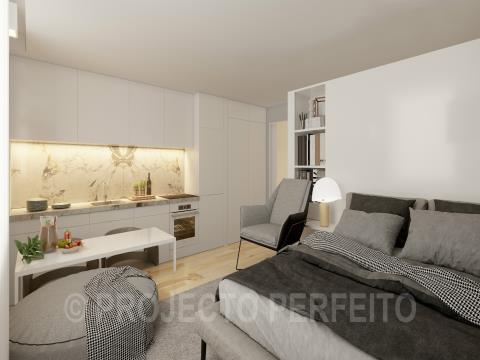 Apartement 0 kamerwoning + 1