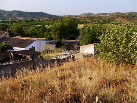 ALGARVE - SILVES - LAND WITH RUIN FOR  RECONSTRUCTION