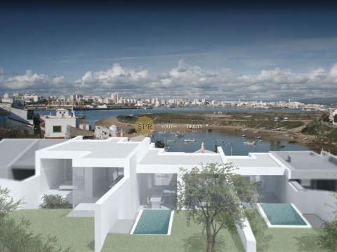 Zeitgenössische Villa in Ferragudo mit Blick auf den Fluss