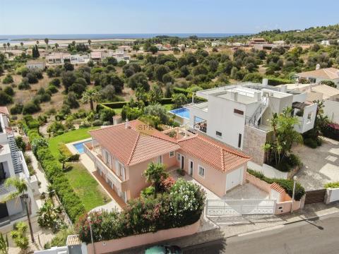 Traditional villa with sea views