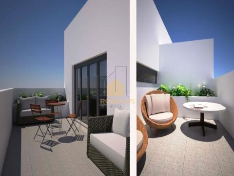 Apartamento T3 Recuado com 2 Terraços Parque Real em Matosinhos