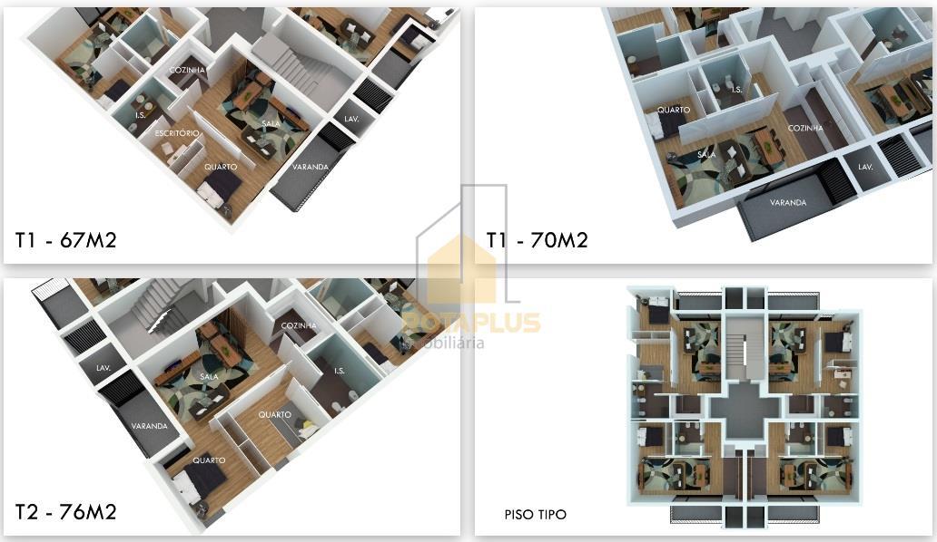 Квартира T1+1