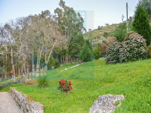 Moradia T6 com terreno de 4880m2 e piscina biológica em Alvados