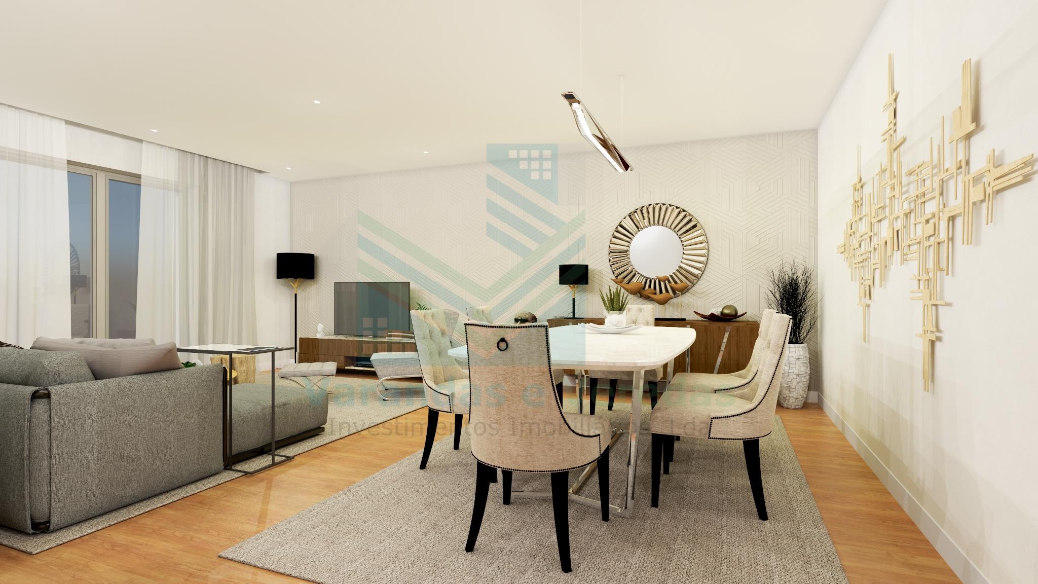 公寓T1+1双面豪华在法蒂玛