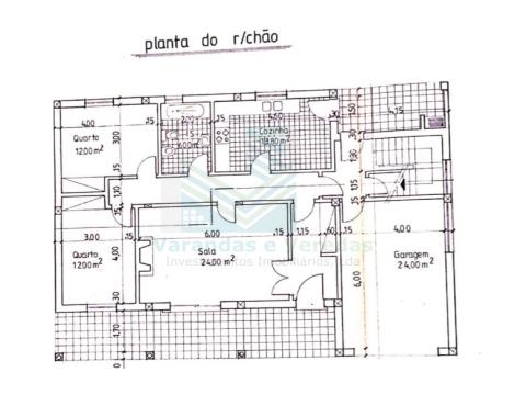 Moradia T2+1 com Garagem e Sótão amplo em Pedrogão - Torres Novas