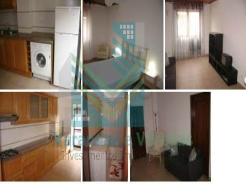 Apartamento T1 com renda mobilado em Entroncamento