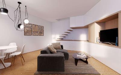 Квартира T1+1 DUPLEX