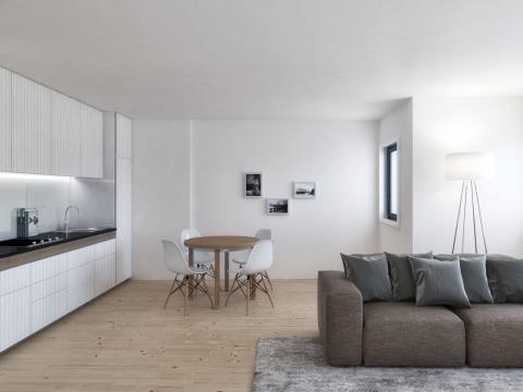Apartamento T2 em construção com jardim privativo * Paranhos