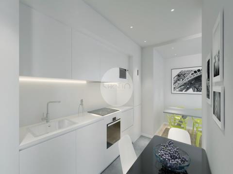 Apartamento T1 novo com Terraço *  Paranhos