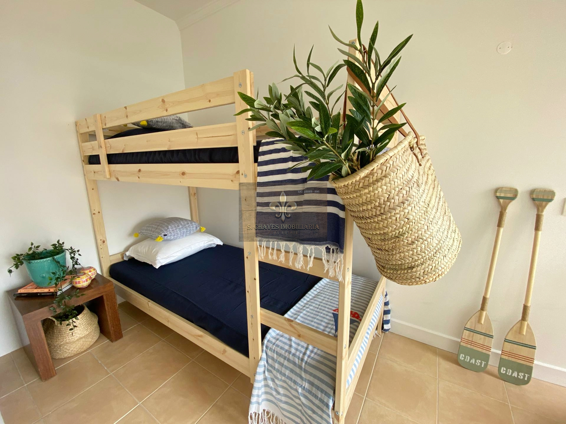 Appartement T1 +1 rénové à 500 mètres de la plage - Salgados