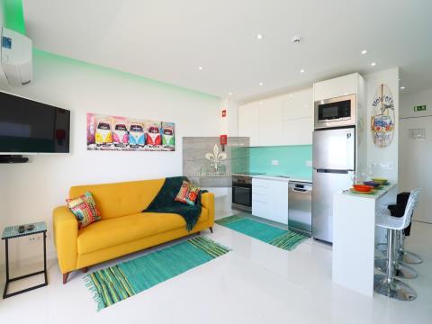 Studio-Wohnung mit Meerblick - Albufeira