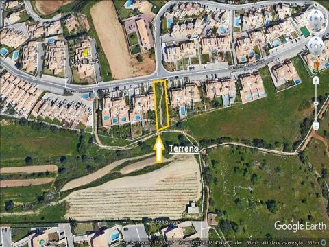 Plot of land for construction of 3 Bedroom Villa with swimming pool in Albufeira