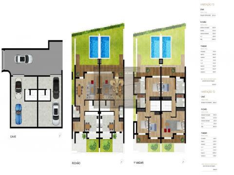 Terrains pour la construction de maisons avec licence