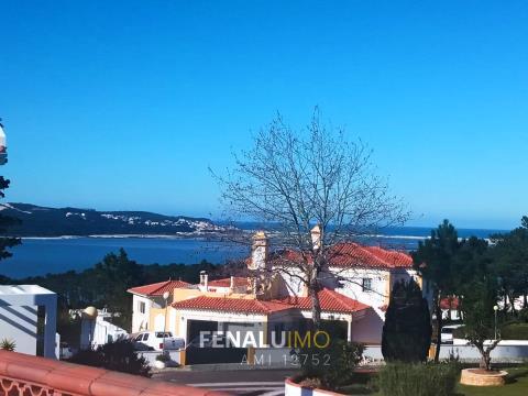 3 bedroom villa, sea and lagoon view, near beach and golf, silver coast