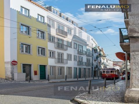 Apartamento T2 em construção S.Bento Lisboa