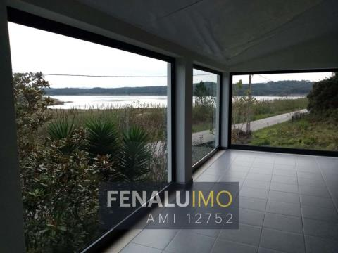 Ground floor Villa for rent yearly next to Lagoa, Foz do Arelho beach, silver coast
